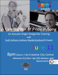 A Celebration of Pride in Song @ Creative City Centre